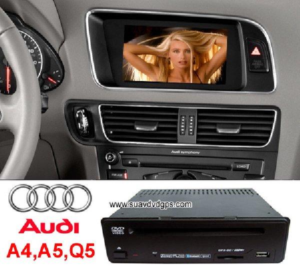 Audi A4 A5 Q5 OEM Stereo Radio DVD Player GPS Navi TV IPOD